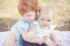 Oh to have a red-headed baby! Oh to have two!