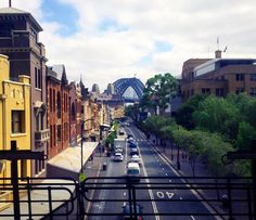 George St leading to The Rocks.  One of my favourite views in Sydney. by sebasu_tan http://ift.tt/1NRMbNv