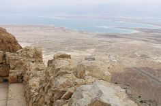 A view of the Dead Sea