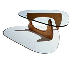 The good ole' Noguchi Table - Herman Miller. A classic.