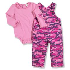 0e653c918462f It doesn't get any cuter than this long sleeve pink camo bodyshirt with  ruffle
