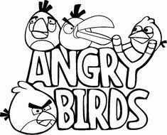 Angry Birds – Imagens para Colorir! | Fazendo a Nossa Festa