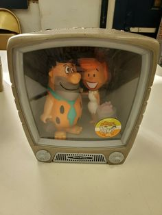 This listing is for a Funko Funkovision Television containing Fred and Wilma Flintstone. Appears new, but not sure so listing as used. Fred And Wilma Flintstone, Funko Toys, Hanna Barbera, Kids Toys, Lunch Box, Tv, Ebay, Vintage, Childhood Toys