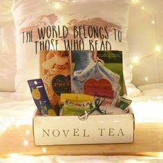 Novel Tea Club - Subscribe