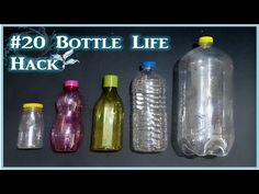 20 Awesome Ideas With Plastic Bottle - YouTube