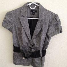 Sold -- Grey BCX blazer Nice one hardly worn BCX - Macy's brand  Jackets & Coats Blazers