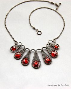 Volcano - Silver Filled Wire with Cubic Zirconia