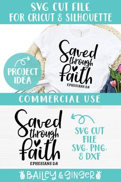 Christian Faith, Christian Quotes, Sewing Quotes, Bible Verses About Faith, How To Make Tshirts, Religious Quotes, Design Bundles, Book Lovers, Free Design