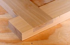 Half-Lap Joints - Woodworking Info - Tips - Tool Reviews and Plans - NewWoodworker.com LLC