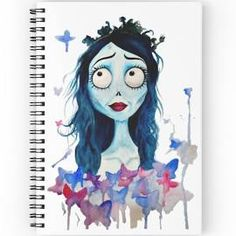 The Corpse Bride Spiral Notebooks