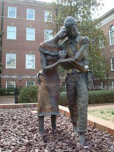 Statue, Univ of North Carolina?
