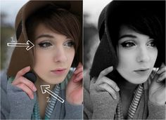 Tips for taking better self portraits. I'm terrible at self portraits, so this is a handy article!