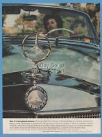 1959 Mercedes Benz Hood Ornament Emblem photo Star of International Acclaim ad
