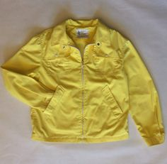1960's yellow rain jacket London Fog classic by afterglowvintage, $34.00