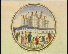 French Revolution Digital Archive: [Démolition de la Bastille] [estampe]