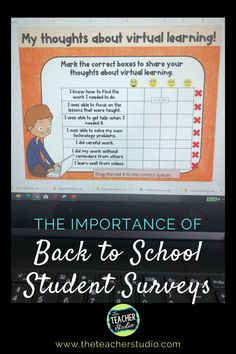 School Plan, School Ideas, Back To School, Teaching Schools, Teaching Ideas, Student Survey, To Focus, Getting To Know, Classroom Ideas