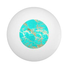 Awesome trendy modern faux gold glitter marble ping pong ball - tap to personalize and get yours #pingpongball  #awesome #trendy #modern #faux #gold