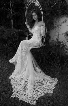 34 Glamorous Wedding Dresses Creations That Will Fascinate You | Pinkous