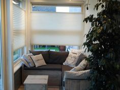 Home made Loungehoekje en mooie duette shades