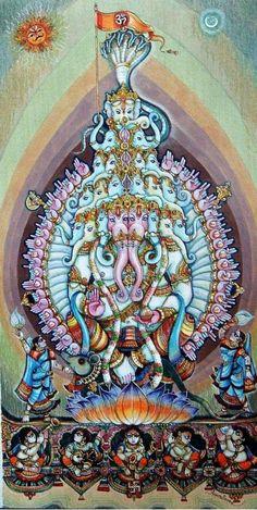Lord Ganesha 3 by artist Anand Sonar Shiva Parvati Images, Shiva Hindu, Hindu Art, Hindu Deities, Hinduism, Religious Paintings, Indian Art Paintings, Religious Art, Ganesha Pictures