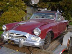 1955 Studebaker 2 door coupe