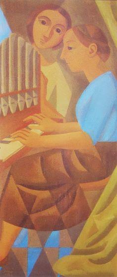 La Concertista ~~ Norah Borges -- Buenos Aires 1901-1998