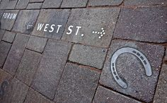 Placemaking and wayfinding project for West Street in Horsham UK