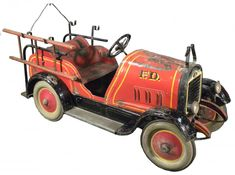 1927 Gendron Fire Truck Kids Pedal Car