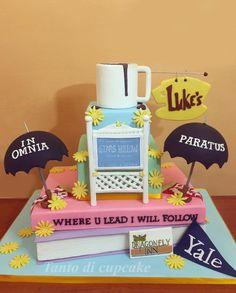 Gilmore Girls Cake