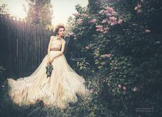 "/ Photo ""///"" by Petrova JuliaN Boho Wedding Gown, Tulle Wedding, Wedding Shoot, Dreamy Photography, Wedding Photography, Fashion Photography, Beautiful Dresses, Nice Dresses, Gorgeous Dress"