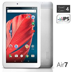 """NeuTab® Air7 7 inch Quad Core Google Android 5.0 Lollipop Tablet PC 1GB RAM 8GB Nand Flash 7"""" 178 Degree View IPS 1024x600 HD Display Built-in Bluetooth 4.0 Dual HD Camera GPS, Slim Metal Design - NeuTab Air 7 – Brilliant display The NeuTab Air 7 tablet is equipped with a vibrant 7"""" HD IPS display that keeps the picture sharp from practically any angle, ideal of reading, playing games, browsing the web, or watching movies. Fast launching and loading Built in Medi"""