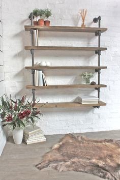 Roger Bespoke Reclaimed Scaffolding Boards and by inspiritdeco
