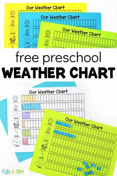 Snag this free printable weather chart for preschool! It's sure to be one of your favorite preschool printables. I've used it for years in my preschool circle time and for a weather center! Preschool Teacher Tips, Preschool Lesson Plans, Free Preschool, Preschool Printables, Preschool Classroom, Preschool Activities, Free Printables, Preschool Weather Chart, Weather Graph