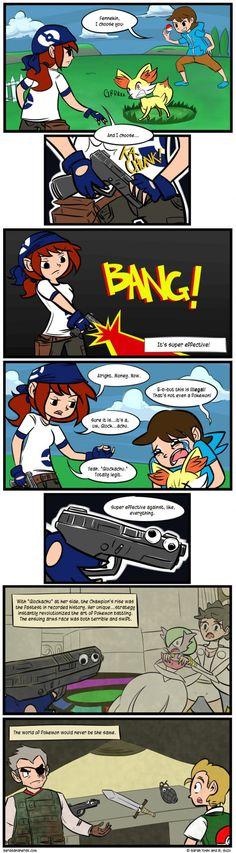 "The legendary pokemon ""Glockachu"""
