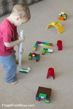 Lego. Duplo mini golf #legolovers #toddlers