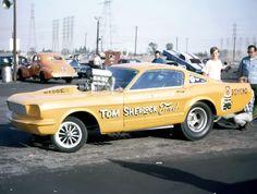TOM SHERLOCK Ford Mustang Funny Car