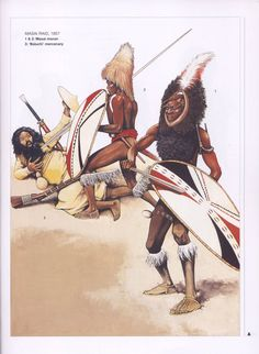 Masai Warriors c.1857