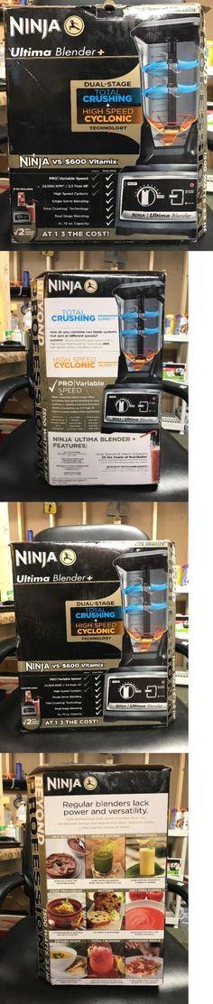 Blenders Countertop 133704: Ninja Ultima Blender + Plus W 3 Nutri Ninja Single Cups 1500 Watt Blender Bl830 -> BUY IT NOW ONLY: $234.99 on eBay!