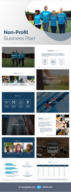 There are more than 1.5 million nonprofit organizations in the United States, according to the National Center for Charitable Statistics. If you want to promote your good cause or secure investment from clients, you need to stand out from the crowd. This is where a good non profit business plan template comes in. This document lets you showcase your organization in an innovative way. Download it free!