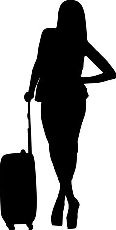 Travel, Silhouette, Travel, Woman, Isolated #travel, #silhouette, #travel, #woman, #isolated