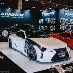 Lexus LC500 by @aimgain_international | Photo by: @rock_photograph #stancenation