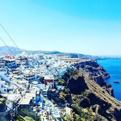 Cruise Port Guides: Santorini Greece - Santorini is a Greek Island and can be on a Mediterranean cruise. Here is what to see on this cruise port Greece Cruise, Cruise Europe, Cruise Port, Cruise Travel, Cruise Vacation, Greece Travel, Santorini Island, Santorini Greece, Crete Greece