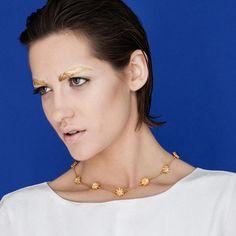The Golden Lotus Necklace   Glenda López