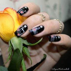 Nail art - Rock n roll - Nailstorming
