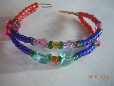 Agnysse - Hand made Wired bracelet cuff -1 - (taken by my niece - Nathaynia Ng)