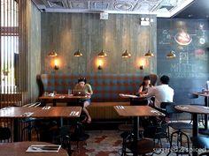 Matto Pizzeria & Bar - interior design by Pure Creative International
