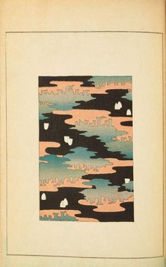 Selected pages from 1901 and 1902 issues of Shin-Bijutsukai, a Japanese design magazine. You can see the original magazines in their wonderful entirety here in our Books collection . Japanese Textiles, Japanese Patterns, Japanese Prints, Japanese Art, Japanese Fabric, Textile Prints, Textile Patterns, Lino Prints, Floral Patterns