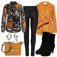 Freizeit Outfits: Bernstein bei FrauenOutfits.de 50 Fashion, Girl Fashion, Fashion Outfits, Womens Fashion, Jean Outfits, Chic Outfits, Fall Outfits, Cooler Style, Business Chic