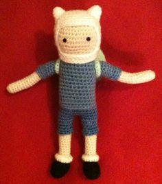 "Finn, from ""Adventure Time"" - amigurumi"