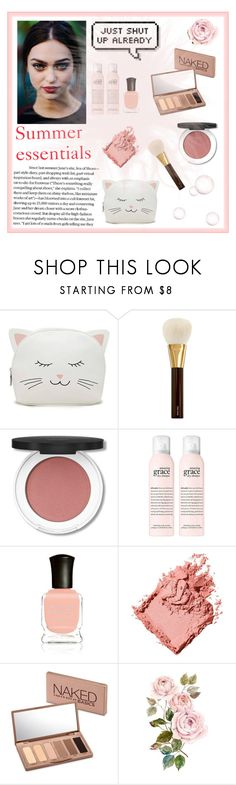"""Summer essentials"" by lenka-skodiova ❤ liked on Polyvore featuring Forever 21, Tom Ford, Deborah Lippmann, Bobbi Brown Cosmetics and Urban Decay"